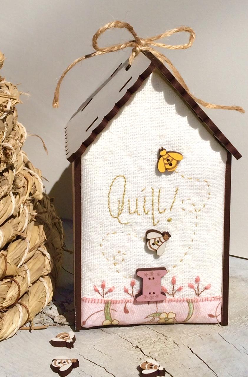 "PCNI5 - Mini quilt kit ""Quilt house"""