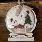 Kit de patchwork - Boule à neige