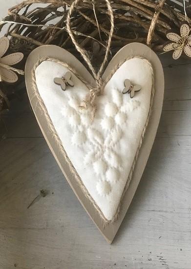 Kit of boutis - Butterfly heart - Cb10b