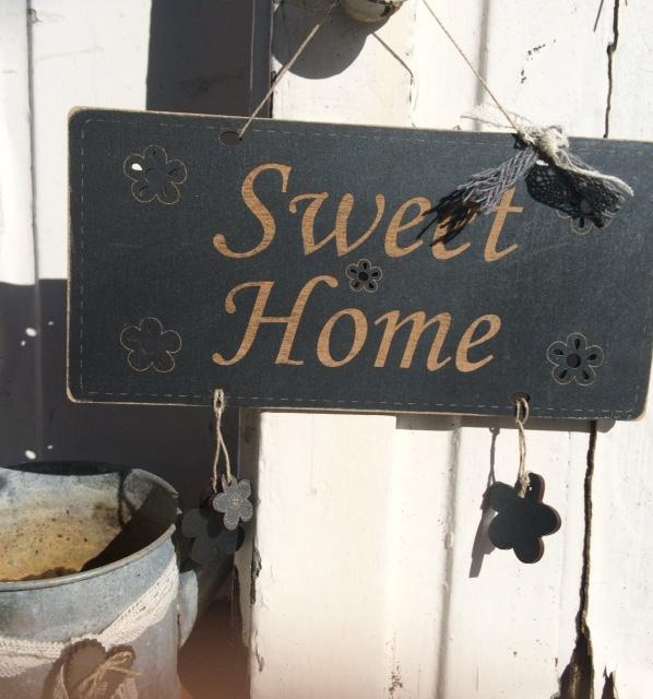 Panneau de porte Sweet Home - DJP2