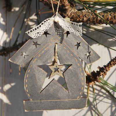 Décoration de Noël - Nichoir & étoile  - DNG22