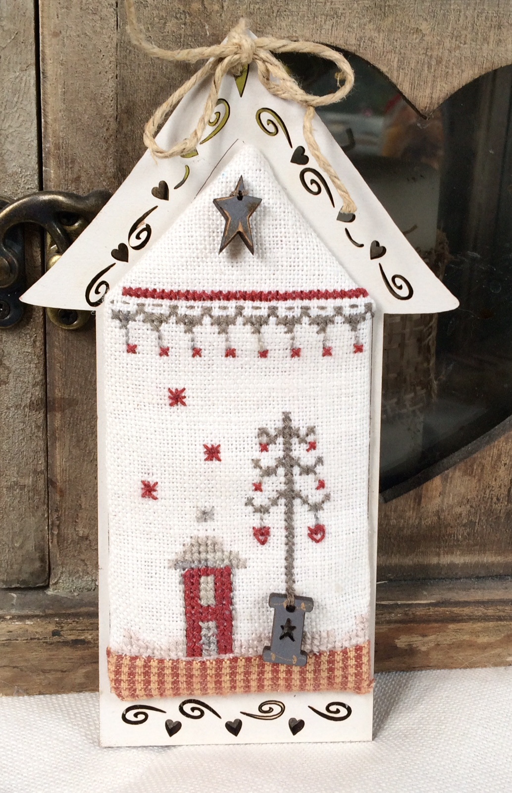 Crosstitch chart - Mini Christmas house KMAIS5