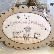 Kit of  patchwork Sheep frame
