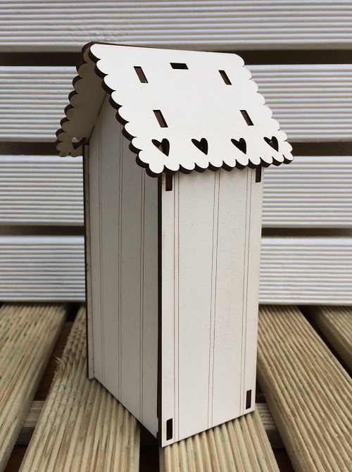 Birdhouse kit - PCNI ecru