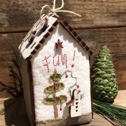 Mini kit de patchwork - Maisonnette Noël