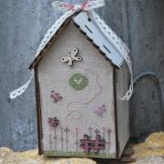Cross stitch chart - Birdhouse & butterfly - PCNI2