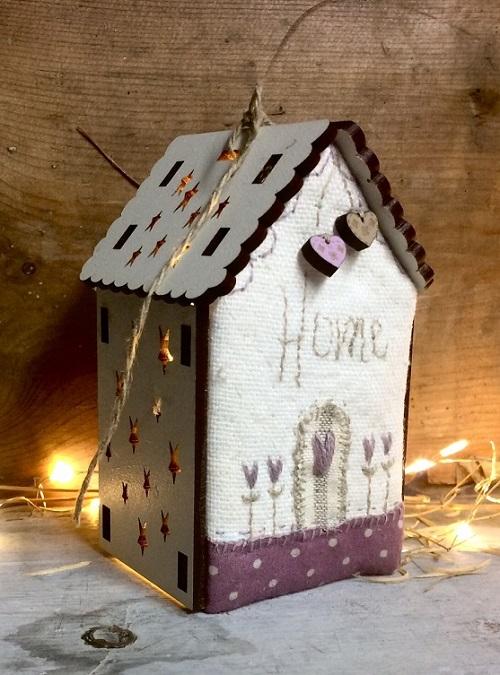 Kit de patchwork - Maison lumineuse