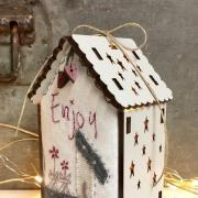 Mini quilt kit - Luminous house