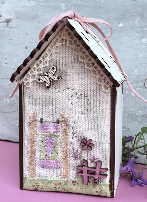 Kit of patchwork - Butterfly Birdhouse - PCNI3