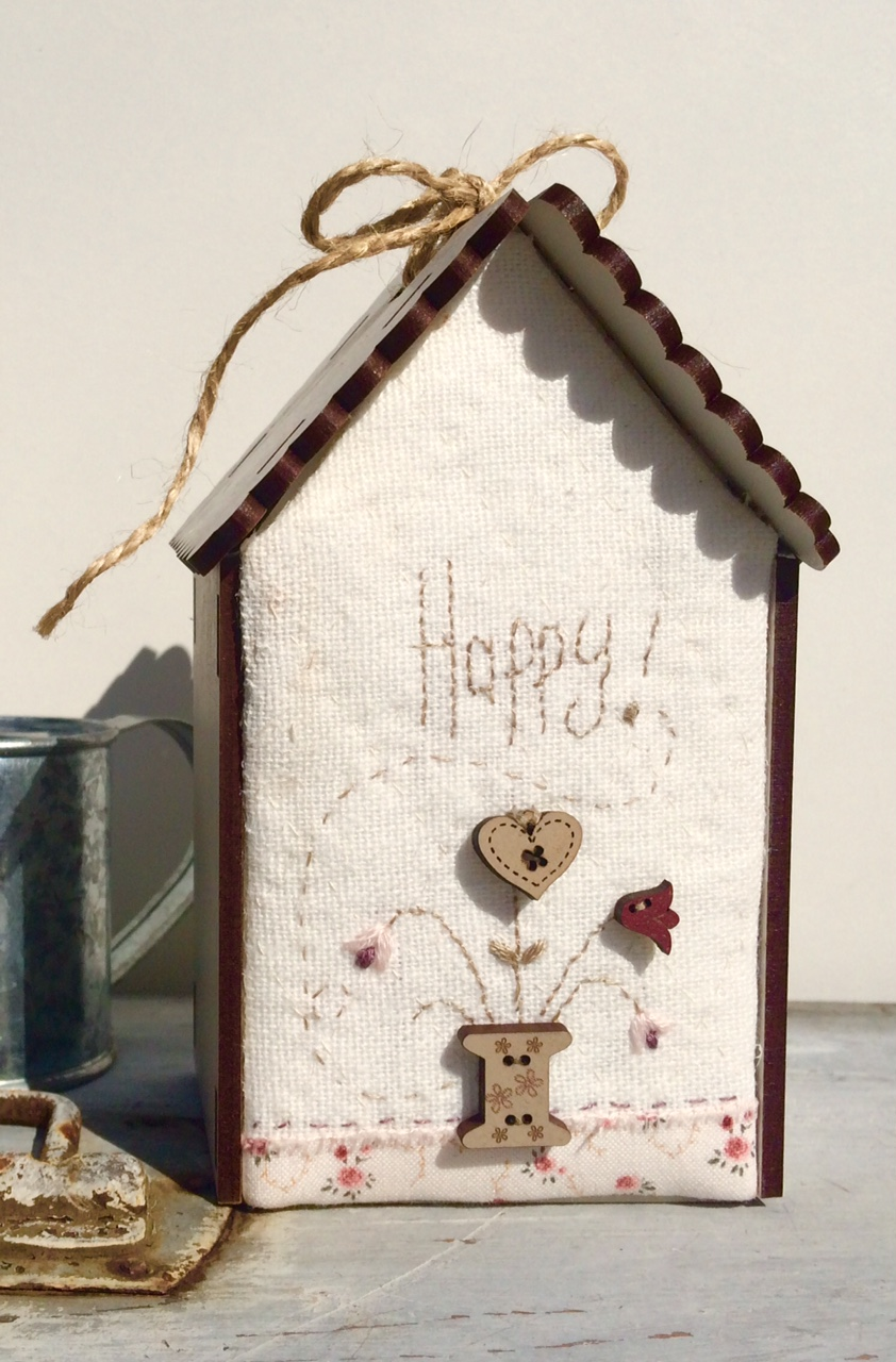 Maisonnettes - Fiches Patchwork