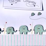 Buttons - Assorted elephants - TB10E