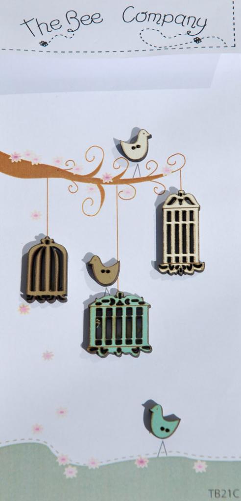 Boutons cages et oiseaux - TB21C