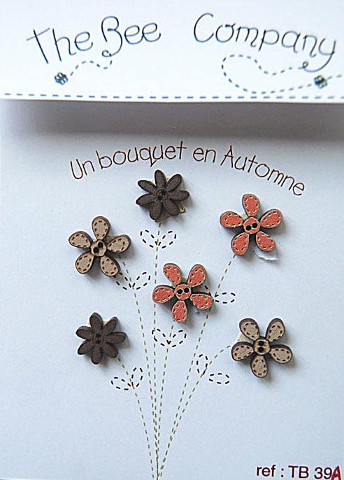 Boutons - bouquet d'automne - TB39A