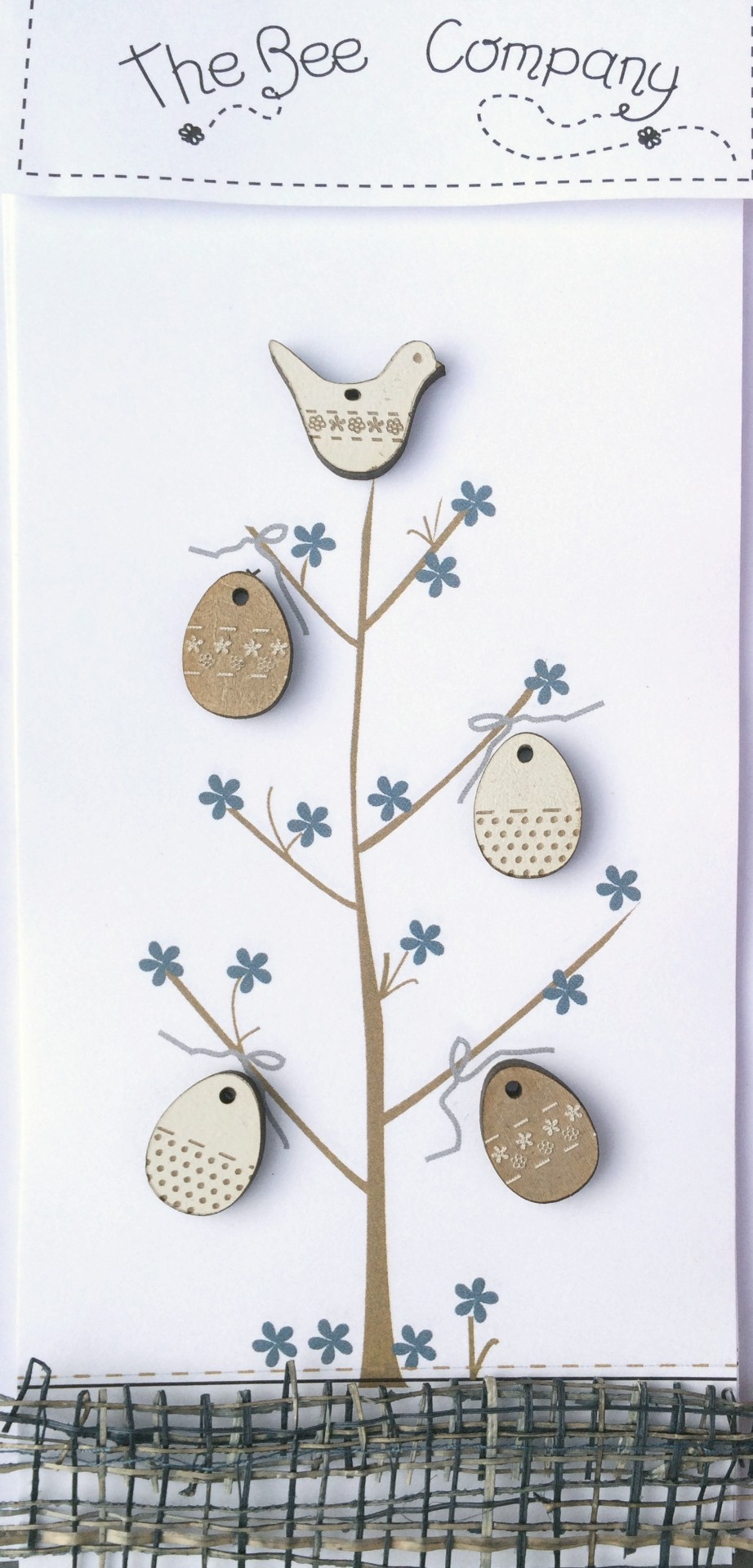 Buttons Easter tree - TB6P