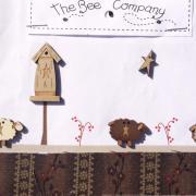 Buttons -sheeps & birdhouse - TB79B
