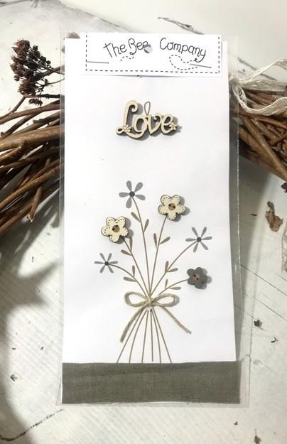 Tb92b - Fleurs  & love