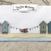 Boutons - 4 cabines de plage - TBE19A