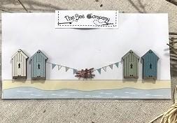 Buttons 4 beach cabins - TBE19A