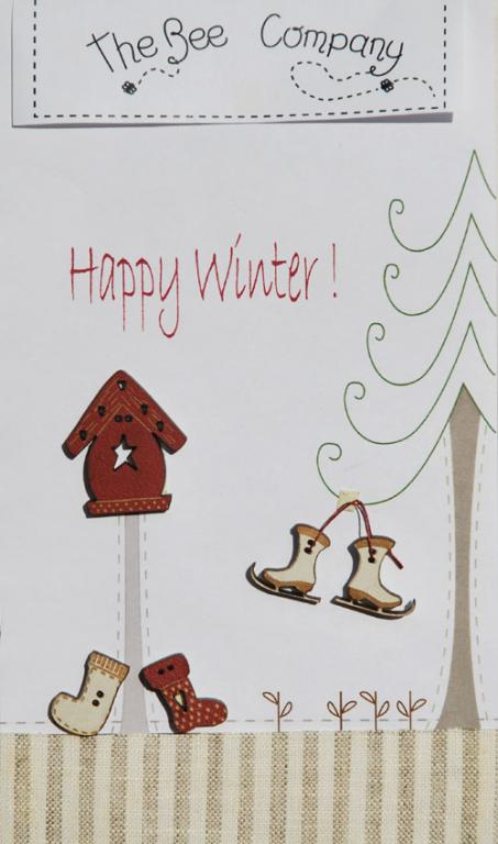 Boutons Happy winter - TBN16