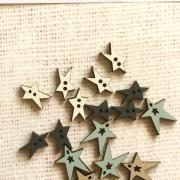 boutons - étoiles assorties été - TE6C